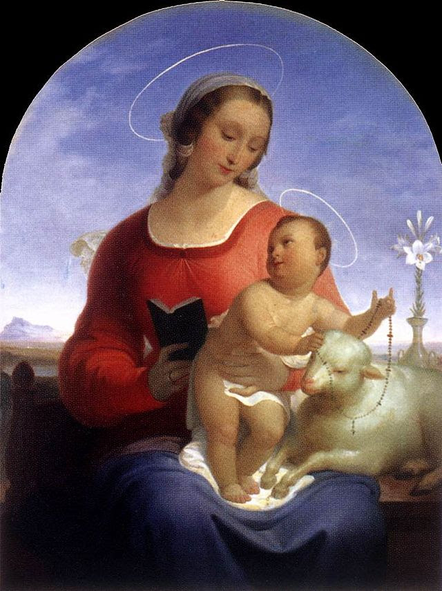 Tommaso Minardi - Vår Fru av Rosenkransen - WGA15699.jpg