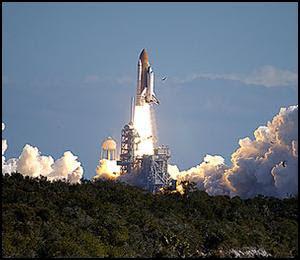 Lanzamiento del Transbordador Columbia STS-107
