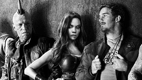 Yondu Udonta (Michael Rooker), Gamora (Zoe Saldana), Star-Lord (Chris Pratt) and the rest of the Guardians return to the big screen in GUARDIANS OF THE GALAXY VOL. 2...on May 5, 2017.