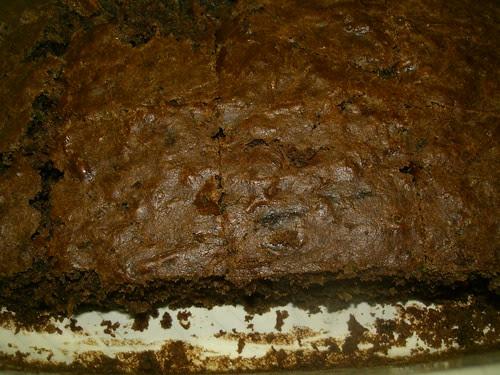 chocolate zucchini banana cake