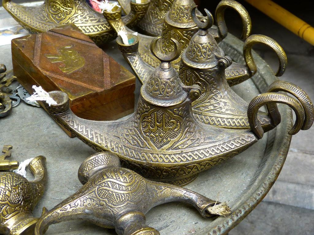 Aladin lamps, Grand Bazaar, Istanbul