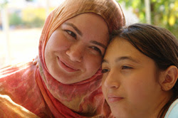 Photo: Turkish mother and daughter