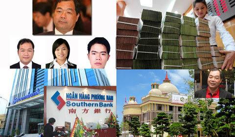 Trầm Bê,Trầm Khải Hòa,Sacombank,SouthernBank,Ngân hàng Phương Nam,Đặng Văn Thành,Lê Hùng Dũng