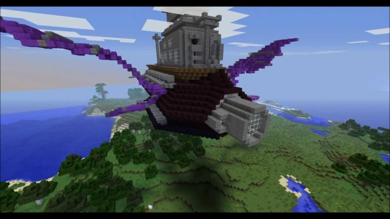 Minecraft Battleship Halberd Youtube
