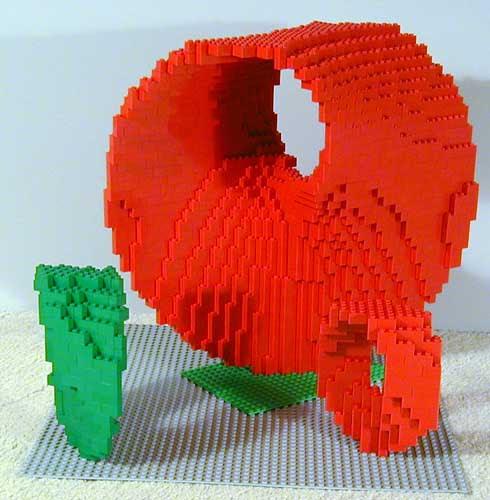 Esculturas matemáticas em LEGO