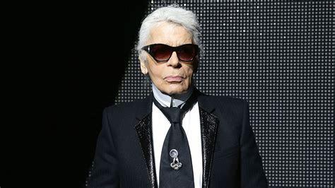 karl lagerfeld dead fashion icon  chanel designer