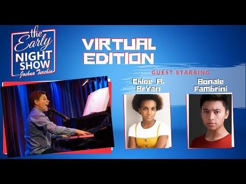 The Early Night Show With Joshua Turchin - Virtual Edition (Bonale Fambrini and Chloe A. Bryan)