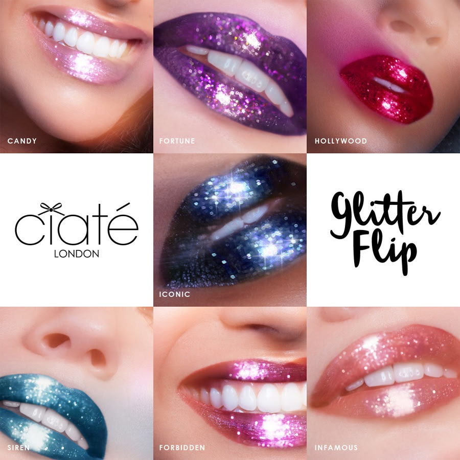 Ciaté London Glitter Flip Swatches