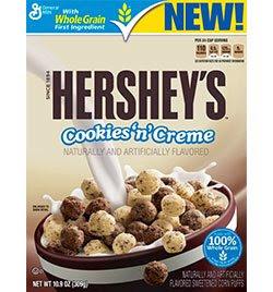 Hershy's Cookies 'n Creme Cereal