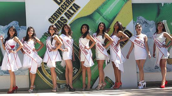 Candidatas a Miss y Señorita Potosí 2014