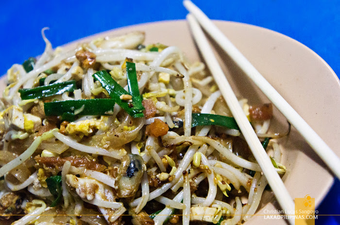 Cheap Pad Thai at Phuket's Patong Beach Road