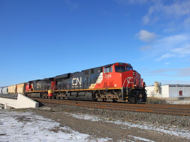 CN 2264 in Winnipeg