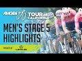 Vídeo de la victoria de Iván García Cortina en la 5ª etapa del Amgen Tour de California 2019