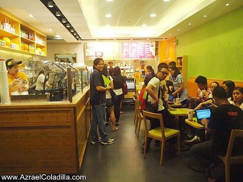 Jamba Juice store launch in SM City North Edsa