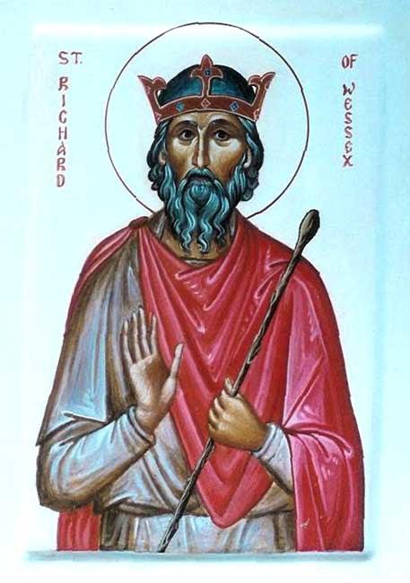 IMG ST. RICHARD of Wessex, the Pilgrim