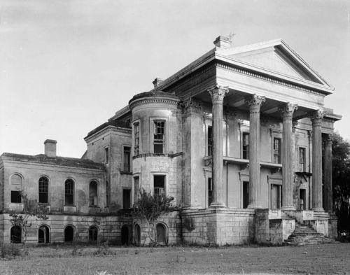 Abandoned Louisiana plantation.