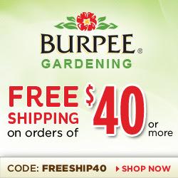 Burpee.com - Earth Day HP Image