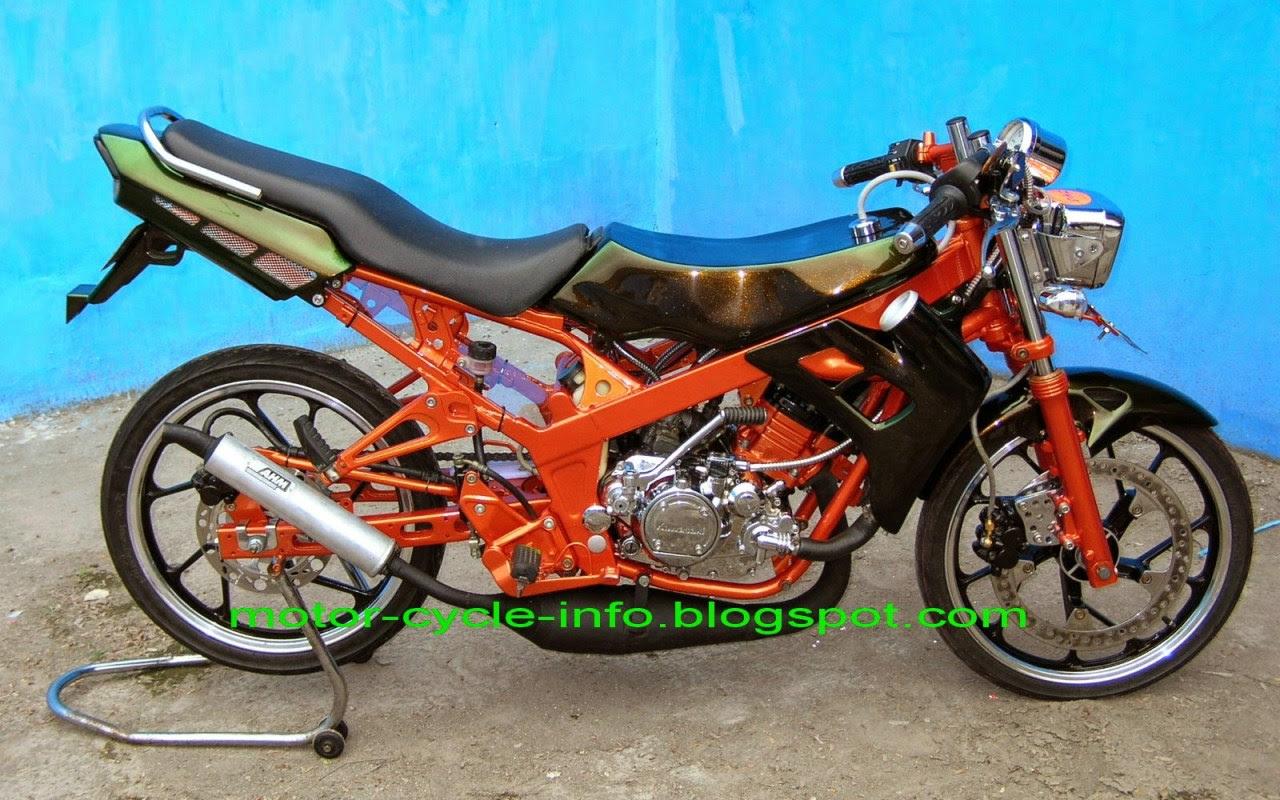 66 Foto Modifikasi Motor Drag Revo Terbaru Sendal Motor
