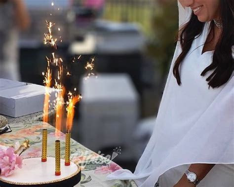 Four Inch Cake Sparklers   Wedding Sparklers Outlet