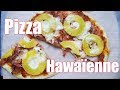 Recette Pizza Jambon Ananas