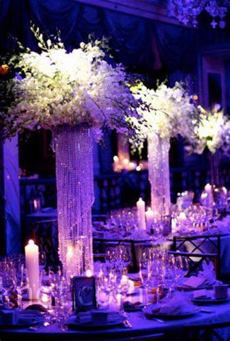 Wedding Decor Crystal Curtains, Candle Holders, Beaded