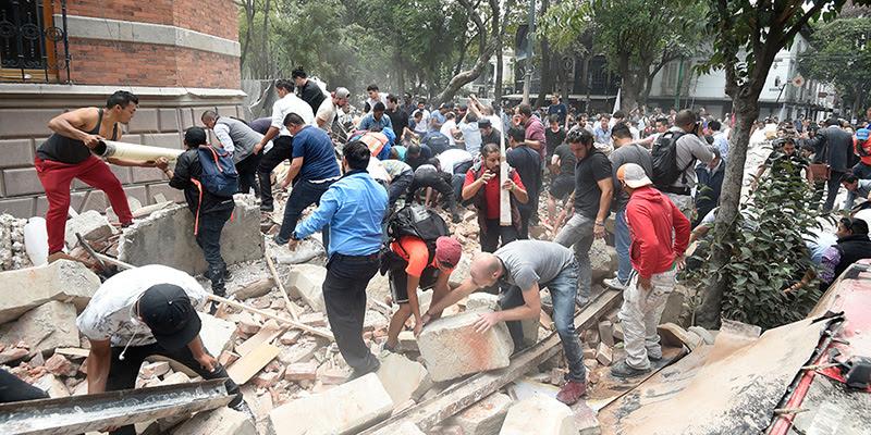 Risultati immagini per terremoto messico