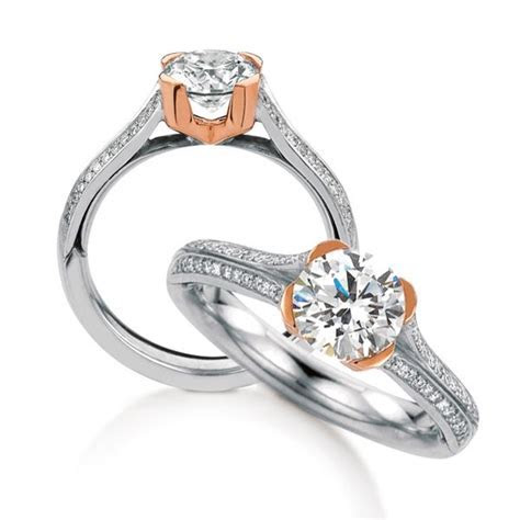 Dundee engagement ring by MaeVona: Modern classic