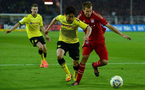 Shinji Kagawa - Dortmund v Bayern
