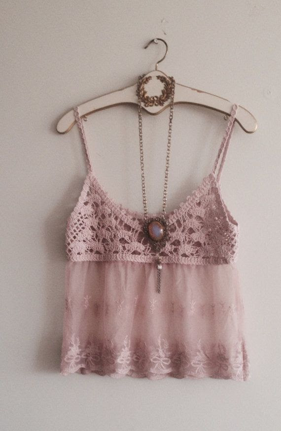 Crop  top coachella festival boho chic by BohoAngels on Etsy, $45.00