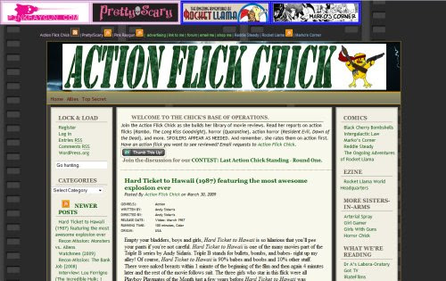 Action Flick Chick