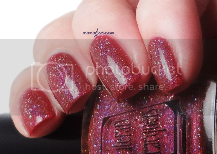 xoxoJen's swatch of Literary Lacquer To Blossom