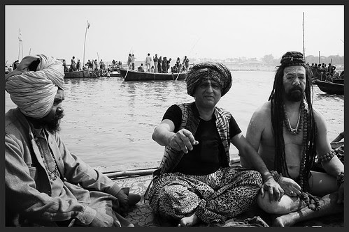 The Maha Kumbh Comes Once In A Life Time by firoze shakir photographerno1