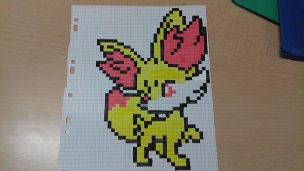 Dessin Pokémon Pixel