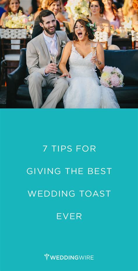 7 Tips for Giving the Best Wedding Toast EVER   Wedding