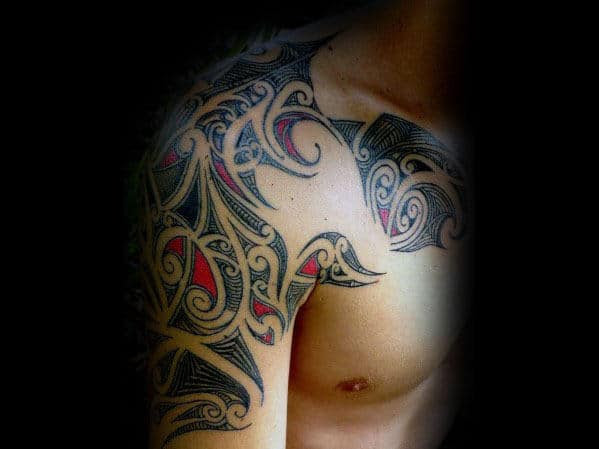70 Sick Tribal Tattoos For Men Cool Masculine Design Ideas