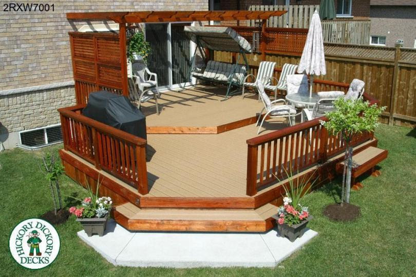 50+ Great Two Level Deck Design Ideas