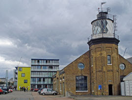 London's only lighthouse
