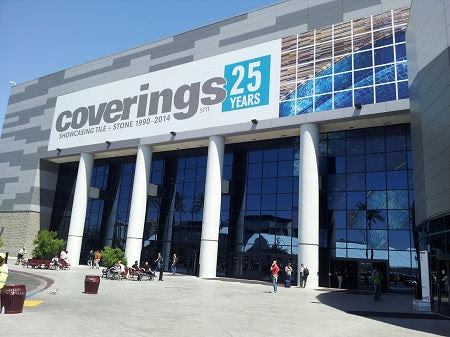 Coverings 2014 is at the Las Vegas Convention Center