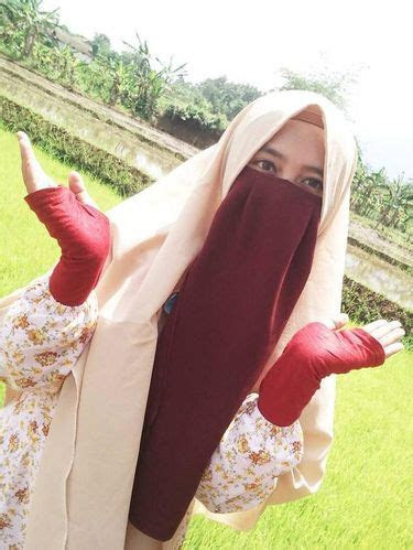 hijab cadar kartun nusagates