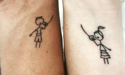 Sibling Tattoos Matching Tattoo Ideas Brothers And Sisters Hot