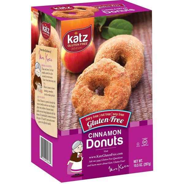 Gluten Free Cinnamon Donuts | Katz Gluten Free