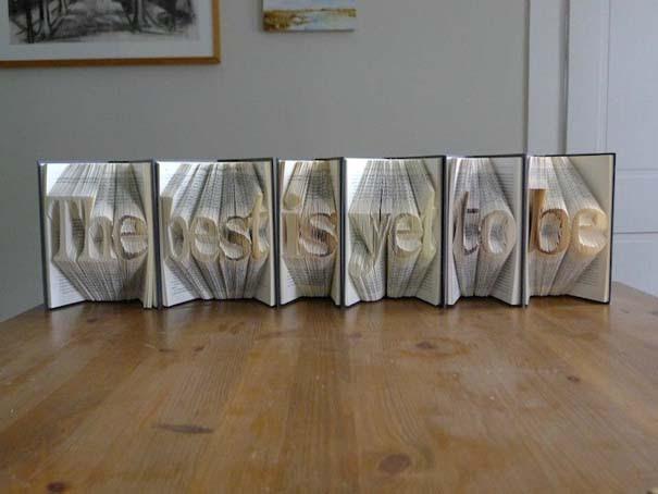 Απίστευτα γλυπτά με διπλωμένες σελίδες βιβλίων (3)