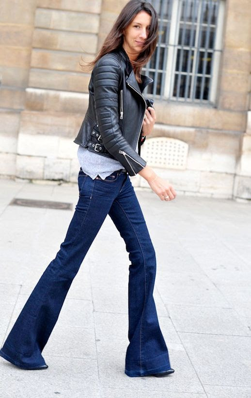 Le Fashion Blog 9 Ways To Wear Flared Jeans Wide Leg Denim Street Style Geraldine Saglio Leather Jacket Via Hanneli photo 1-Le-Fashion-Blog-9-Ways-To-Wear-Flared-Jeans-Wide-Leg-Denim-Street-Style-Geraldine-Saglio-Leather-Jacket-Via-Hanneli.jpg
