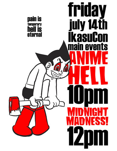 AnimeHELL/Midnight Madness at IkasuCon 2006