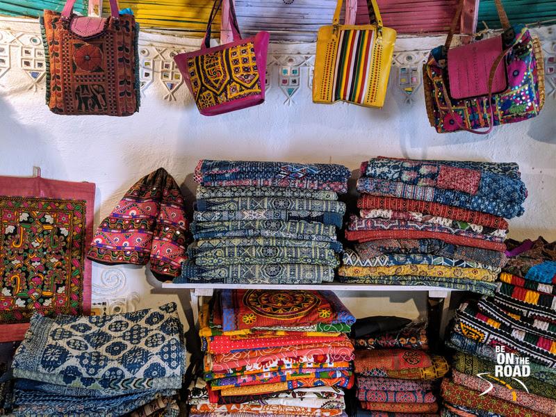 Applique and more designs at Bhirandiyara village, Kutch