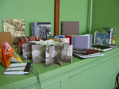 A selection of the books made