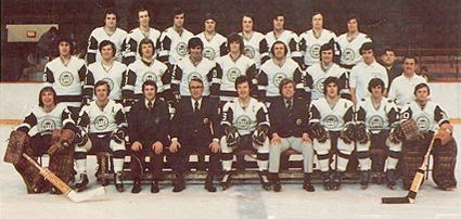 1972-73 New England Whalers team, 1972-73 New England Whalers team
