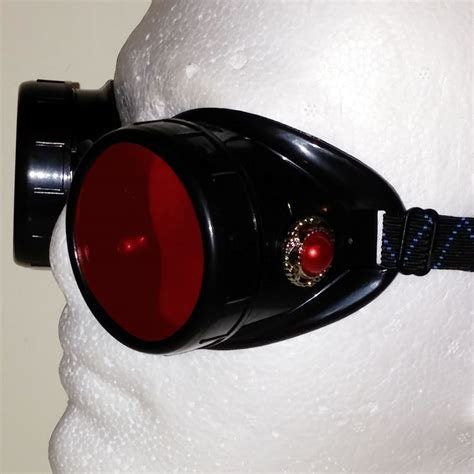 Red Steampunk Goggles