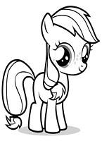 Kolorowanki My Little Pony, kucyki do wydruku