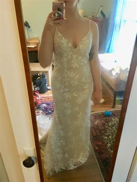 Help! Does my dress show much cleavage/is it too sexy?